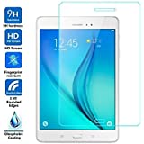 Samsung Galaxy Tab A SM-T355 For Tempered Glass [8.0-inch] Premium 2.5D 9H Anti-Fingerprints & Oil Stains Coating Hardness Screen Protector Guard For Samsung Galaxy Tab A SM-T355