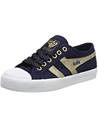 Gola Damen Coaster Mirror Navy/Gold Sneaker