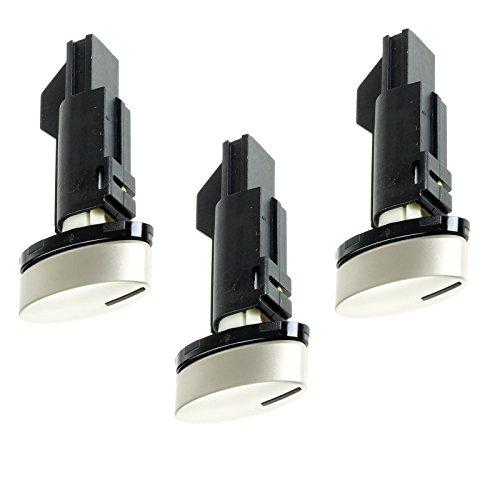 spares2go Silber Einstellknopf Schalter für Neff Herd Ofen (Knöpfe), 3Stück -
