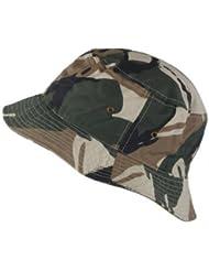 City Hunter & Ethos - Bob 100% coton - Camouflage - Taille unique