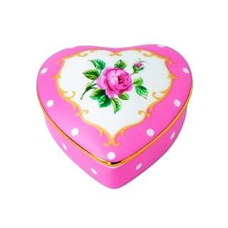Cheeky Pink By Royal Albert Heart Box