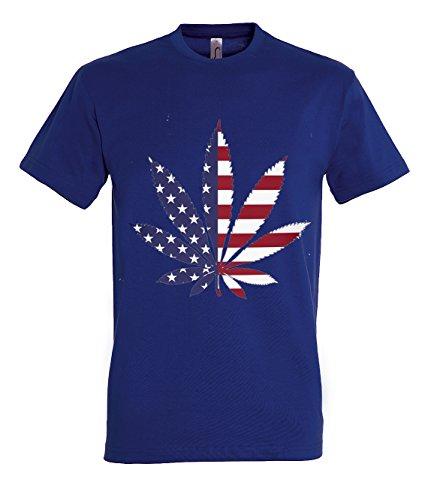 TRVPPY Herren T-Shirt Modell Bazinga in verschiedenen Farben, Gr. S-5XL Navyblau