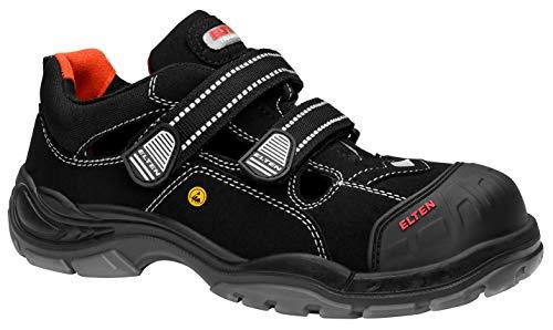 ELTEN Sicherheitsschuhe SCOTT Pro ESD S1P, Herren, sportlich, leicht, schwarz, Kunststoffkappe (Ca Scott)