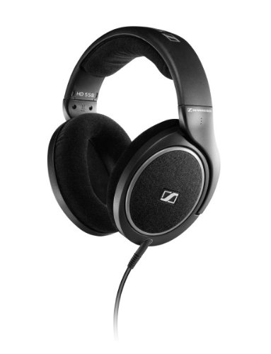 Sennheiser HD 558 Over-Ear Headphone (Black)