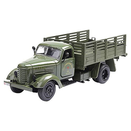 HappySDH Mini RC Militär Truck 1:36 LKW Spielzeug Auto Beste Geschenkeidee für Kinder (Grün)