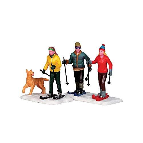 Lemax - Cross Country Friends - 2er Set - Polyresin - Figuren & Zubehör für die eigene kleine Weihnachtswelt