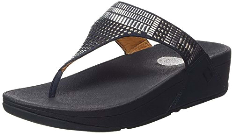 Fitflop Aztek Chada, Women's Sandals, Blue (Supernavy 097), 3 UK (36 EU)