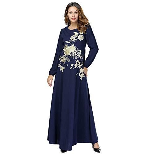 a217970b04 Muslim Dresses for Women~Hotsell〔☀ㄥ☀〕Ladies Long Sleeve Abaya Print