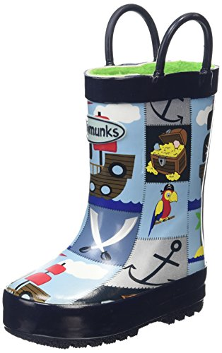Chipmunks Pirate, Bottes garçon Multicolor (Multi 002)
