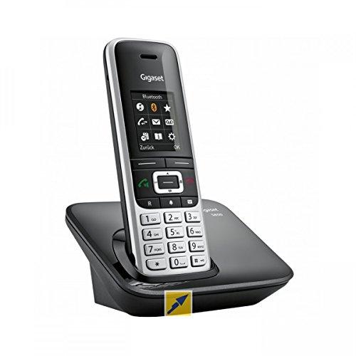 Gigaset S850A GO - Schnurloses Telefon/VoIP-Telefon - Anrufbeantworter - Bluetooth-Schnittstelle mit Rufnummernanzeige - DECT\Gap - 2 Leitungen