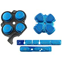 OSTENT Botones Key Pad Set Repair Replacement Compatible para Sony PSP 3000 Slim Console - Color Azul