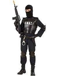 Kostüm Karneval Kinder Jungen SWAT Polizei Serie Körper spezielle * 19818