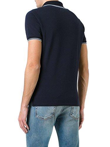 STONE ISLAND - Herren Polo Slim Fit 6515508A3 - Blau (Dark Navy), XXL