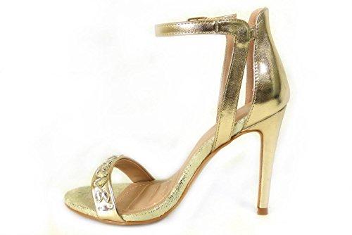 SKO'S , Sandales pour femme Gold (1257-2)