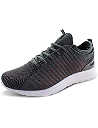 JABASIC Women Lightweight Knit Shoes Casual Athletic Sports Sneakers a3457f27dc81