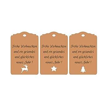 25 Geschenkanhänger Frohe Weihnachten Tags Gift Tags Etiketten