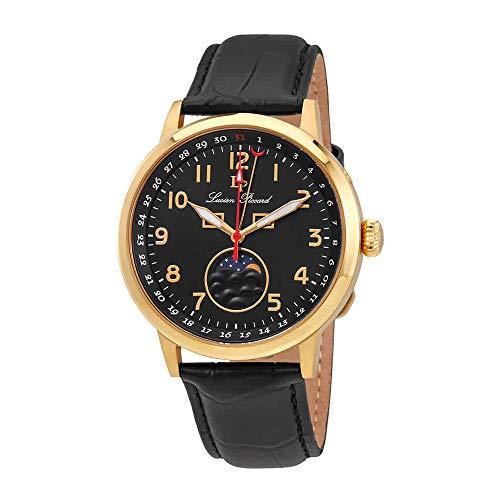 Lucien Piccard Black Dial Mens Watch 40016-YG-01