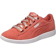 6226ea76744fd Amazon.es  Tenis Pumas Para Mujer - Rojo