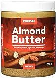 Prozis Mandelbutter 1kg - Köstliche & cremige Textur - Natürliche Proteinquelle - Geeignet für Vegan, Kosher und Halal-Ernährungen - ohne Zusatz von Salz oder Transfett