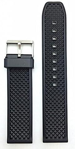 22mm Bracelet noir