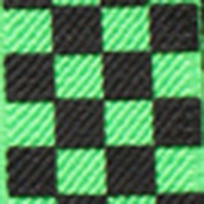 BRETELLES RÉGLABLES-SKULL FLUO-PIANO POUR HOMME FEMME UNISEXE NOUVEAU, VOIR LISTE DE NOMBREUSES COULEURS DISPONIBLES - Check Black Green