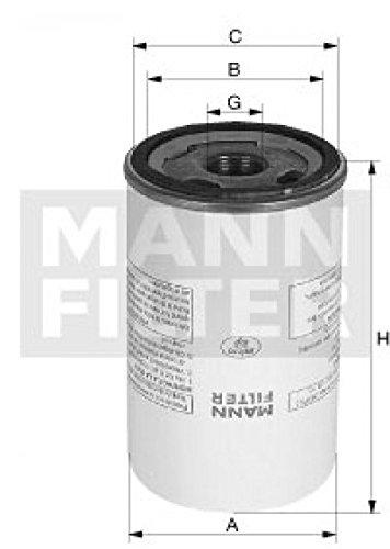 Preisvergleich Produktbild Mann Filter LB 962/20 Luftfilter, Kompressor-Ansaugluft
