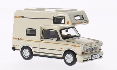 Trabant 601 Wohnmobil, beige , 1980, Modellauto, Fertigmodell, IST Models 1:43
