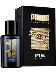 Puma Eau de Toilette Natural Spray Vaporisateur Live Big , 50 ml