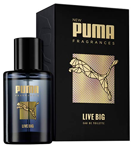 Puma Eau de Toilette Natural Spray Vaporisateur Live Big , 50 ml 3
