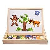 XBECO Magnetische Puzzle Kinderspielzeug
