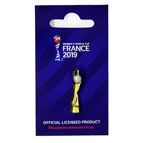 FIFA Women's World Cup France 2019™ - Pins trofeo 30 mm coppa mondiale femminile 2019, unisex, colore: oro