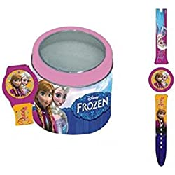 Disney - Frozen - Wrist watch in metal box (Random Model)