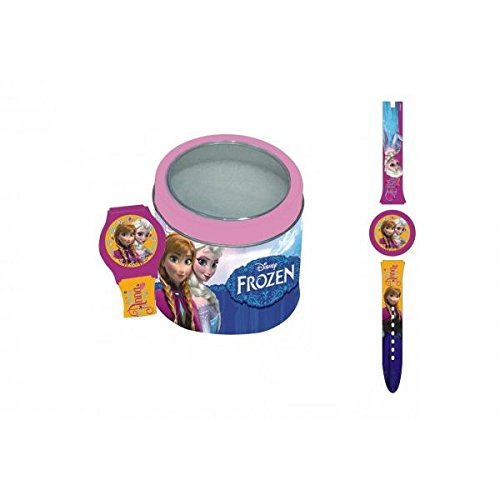 Disney Frozen – Analog-Armbanduhr in Box Metall (Factory CR 560786), verschiedene Farben