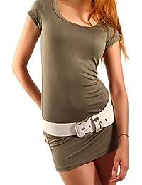 Young Fashion Longshirt Minikleid Basic Shirt Dress Shirt