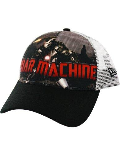 Iron Man 3 War Machine Blast Trucker Cap