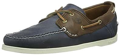 Timberland Heritage, Men's Boat Shoes, Dark Brown/Navy, 7 UK