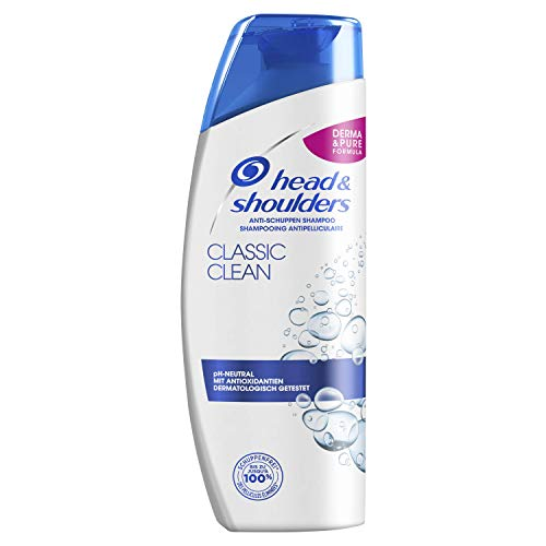 Head & Shoulders Classic Clean Anti-Schuppen Shampoo, 6er Pack (6 x 300 ml)
