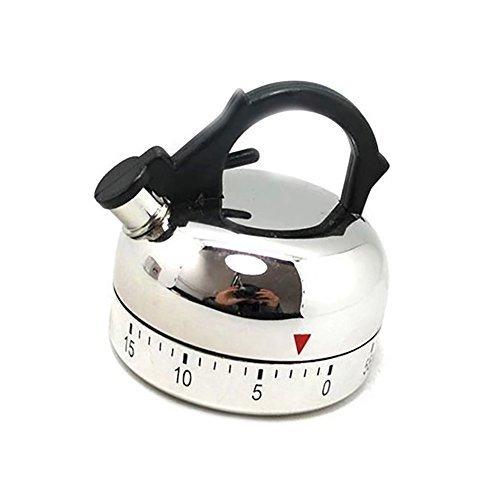 EULAGPRE Küche Timer Alarm Mechanische Erinnerung Teekanne geformt Timer Uhrzählung