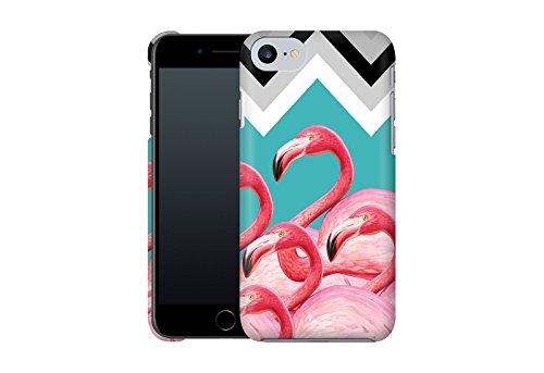Handyhülle mit Tier-Design: iPhone 7 Hülle / aus recyceltem PET / robuste Schutzhülle / Stylisches & umweltfreundliches iPhone 7 Case - Apple iPhone 7 Schutzhülle: Blossom Bird von Terry Fan Flamingo Pattern von Mark Ashkenazi