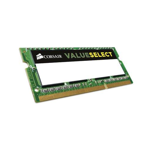Corsair CMSO8GX3M1C1600C11 Value Select 8GB (1x8GB) DDR3 1600Mhz CL11 (8gb Ddr3 Notebook)