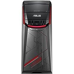 Asus G11CB-IT012T Desktop PC Gaming, Intel Core i7-6700, Nvidia GTX980TI 6 GB DD5, RAM 32 GB, HDD 3 TB e SSD 256 GB, Nero/Antracite