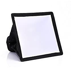 Universal Mini Flash Softbox Diffuser 17x15cm For Canon 580EX II 430EX II 550EX 420EX for Nikon SB900/800/700/600 Flash Diffuser