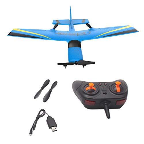 Noradtjcca Z50 2,4G 2CH 350mm Micro Spannweite Fernbedienung RC Segelflugzeug Flugzeug Fixed Wing EPP Drohne mit eingebautem Gyro für Kinder