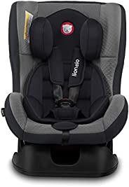Lionelo Liam Grey Baby Car Seat For weight Range - 0Kg To 18Kg with 5-Point Safety Belts with Anti-Slip Covers