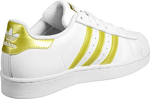 adidas Originals Unisex-Kinder Superstar Foundation Sneakers Weiß