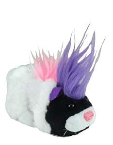 Zhu Zhu Pets - 2601 - Peluche - Hamster Aux Cheveux Longs - Rose et Violet