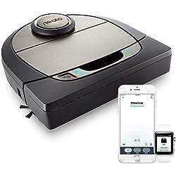 Neato Robotics D701 Connected - Compatible avec Alexa - Robot aspirateur avec station de charge, Wi-Fi & App