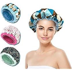 Bonnet Chauffant pour soins capillaires, Ebell's Paris,100% naturel aux graines de lin, microondes et four traditionnel, tous types et textures de cheveux