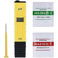 GHB Medidor de PH Digital PH Tester Probador de Múltiples Funciones Portable [Clase de eficiencia