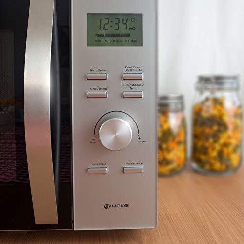 Grunkel - Microondas digital con grill y horno de 30 litros de...